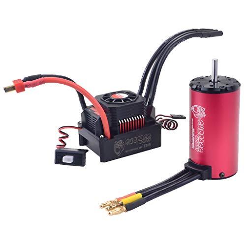 Homyl 4076 Motore Brushless Esc per 1/8 Rc Auto - Ross B