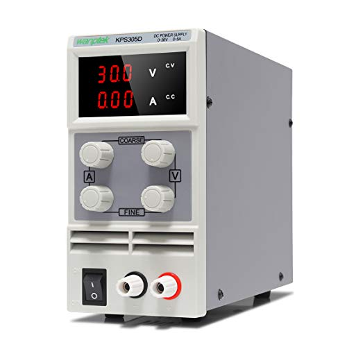 Wisamic KPS305D Labornetzgerät 30V 5A DC Netzgerät: Stabilisiert Digitalanzeige Variable Labornetzteil Netzteil