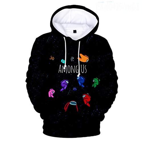 Dannel Children Hoodie Sweatshirt Game Among Us Impostor 3D Cosplay Custome Hip Hop Harajuku Boys Girls Kids Hoody Pullover Sweatshirts