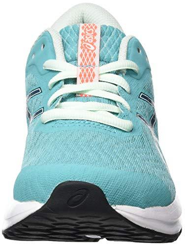 ASICS Patriot 12, Zapatillas para Correr Mujer, Techno Cyan Magnetic Blue, 39 EU