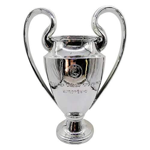 Yoyogi Fußball-Trophy 2020 UEFA Champion League-Pokal, Champion of European Trophy, 2020 Bayern München Sieger-Trophäe mit roten und weißen Bändern (Size : 77 cm/30.3 inches)