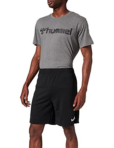 hummel Herren CORE Poly Coach Shorts, Schwarz, 2XL