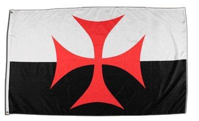 XXL Flagge Fahne Kreuzritter Kreuz 150 x 250 cm