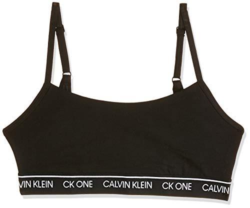 Calvin Klein Damen Unlined Bralette 27 BH-Einlage, Black 5727E, S