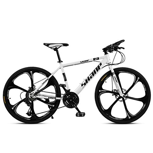 WGYDREAM Mountain Bike Youth Adult Mens Womens Bicycle MTB Mountain Bike,26 Inch Hard-tail Mountain Bicycle,Dual Disc Brake And Front Suspension Fork,Mag Wheels Mountain Bike for Women Men Adults