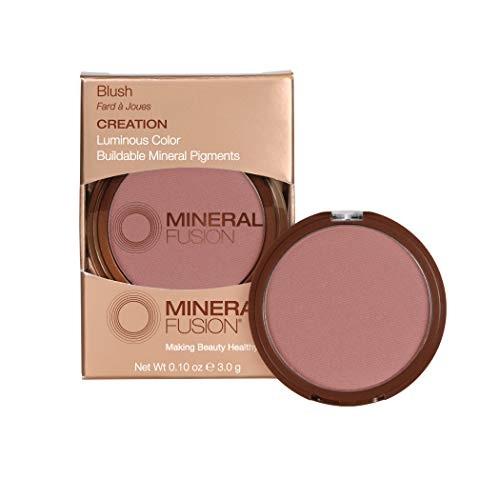 Mineral Fusion Makeup Blush Creation