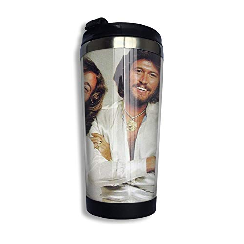 Bee Gees Stainless Steel Vacuum Insulated Tumbler with Lids Travel Mug Double Wall Water Coffee Cup...