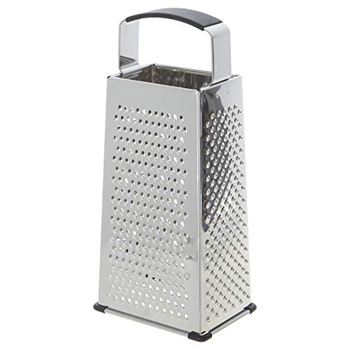 Kitchen Stainless Steel 4-Sided Box Food Grater Vegetable Cheese Slicer Shredder best kitchen grater