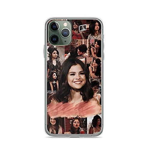 Compatibile con iPhone 12/11 Pro Max 12 mini SE X/XS Max XR 8 7 6 6s Plus Custodie Selena Smile Aesthetic Gomez Collage Custodie per Telefoni Cover