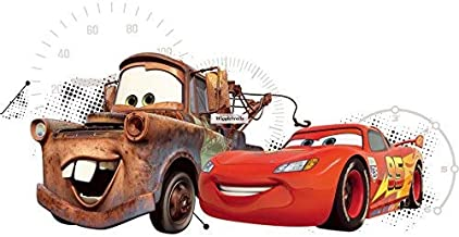 6 Inch Lightning McQueen 95 Decal Disney Cars Movie Truck Removable Peel Self Stick Wall Sticker Art Boys Room Decor 6 by 2 12 inch