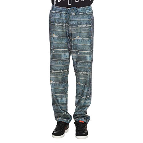 adidas Originals M66623 Jeremy Scott Denim Print Track Broek