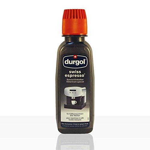 Tchibo Durgol Swiss Espresso Spezial-Entkalker, 4 Flaschen à 125ml, für Kaffeemaschinen