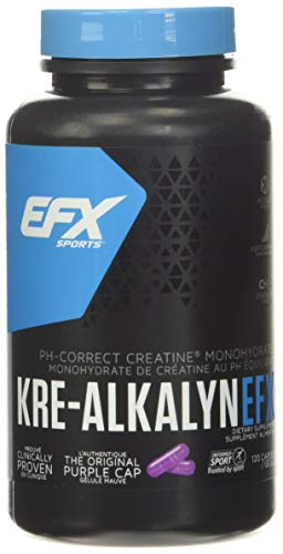 "EFX Suplemento Alimenticio ""Kre-Alkalyn Standard"" - 120 Cápsulas"