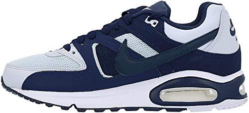 Nike Herren Air Max Command Leichtathletikschuhe, Mehrfarbig (Pure Platinum/Armory Navy/Midnight Navy 000), 40.5 EU