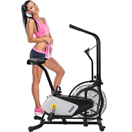 Merax Air Resistance Bike Fan Bike Cardio Exercise for Home Use Iowa