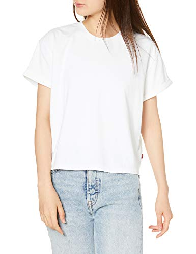 [リーバイス] Tシャツ VERONICA TEE レディース 85783-0000 WHITE US S (日本サイズS相当)