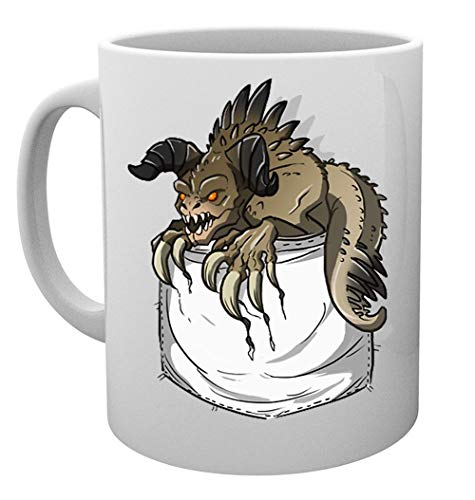 Garra de muerte Bolsillo Taza Mug Cup