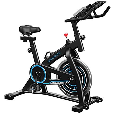 GOFLYSHINE Gym Bike Indoor Cycling Bike Stationary for Home Cardio Bike Workout Bike Exercise bike