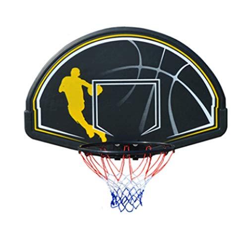 LZL Set de aro de Baloncesto montado en la Pared para niños - Aro de Baloncesto para Puerta con Bolas y Accesorios de Baloncesto Completo - Regalos de Juguete de Baloncesto (Color : B)