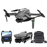 rzoizwko Drones, Dron 4K EIS con cámara UHD para Adultos, cuadricóptero GPS fácil para Principiantes con 50 Minutos de Tiempo de Vuelo, Motor sin escobillas, transmisión FPV de 5 GHz, Retorno automát