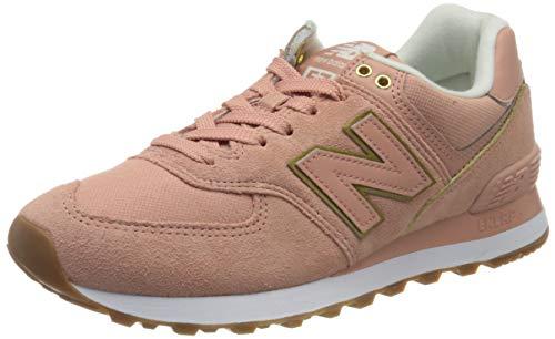 New Balance Damen 574v2 Sneaker, Rot (Red Sob), 43 EU