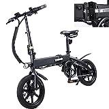 Bicicleta eléctrica Velocidad máxima 25 KM/H Bikes electrica Voltaje/Capacidad 36V / 10AH Bici Plegable Endurance 40-45KM, Disco de Freno Grupo decuadro Horquilla de aleación/Acero