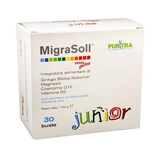 Migrasoll Junior 30 Buste - Integratore per emicrania - Senza Glutine