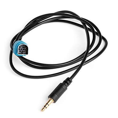 Cable Adaptador de Interfaz AUX de 3,5 mm para Alpine KCE-236B