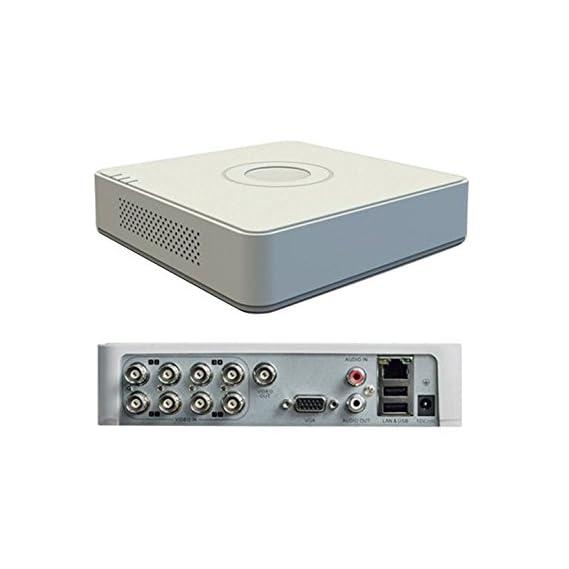 Hikvision 2MP (1080P) 8CH Turbo HD White Body Mini DVR 1Pcs