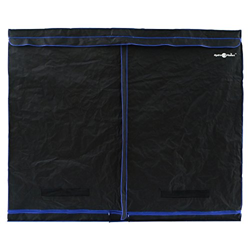 Hydroplanet 96x48x80 Mylar Hydroponic 600D 4'x8' Extra-Thick Canvas Grow Tent for Indoor Plant Growing (96x48x80)