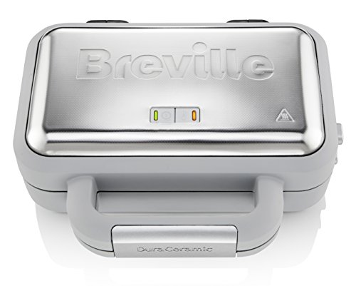 Breville VST072 DuraCeramic Waffle Maker, Non-Stick and Easy Clean with...