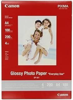 Canon GP-501, Papel Fotográfico A4 con Brillo (100 hojas, 200g/m2)