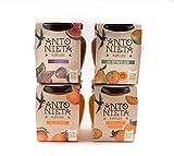 Mermelada de 4 sabores clásicos, Naranja Amarga PREMIADA INTERNACIONALMENTE, HIGO, MELOCOTON, Y PERA