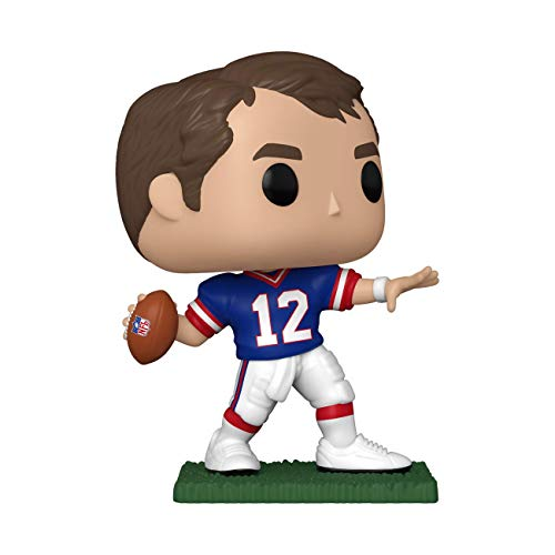 Funko-Pop NFL: Legends-Jim Kelly (Bills) Retired Players Figura Coleccionable, Multicolor (51746)
