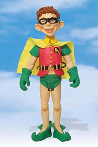 JUST-US-LEAGUE OF STUPID HEROES  ALFrot E. NEUMAN AS ROBIN Action Figure by DC