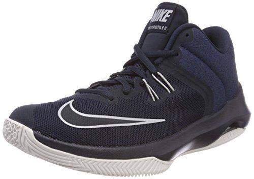 Nike Men's Air Versitile II Basketball Shoe, Dark Obsidian/Wolf Grey, 7.0 Regular US