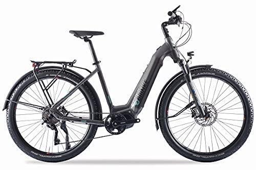 Brinke Bicicletta Elettrica E-Bike Overland XT Comfort Motore Shimano E7000 Batteria 500Wh - Taglia 46 S - Grigia