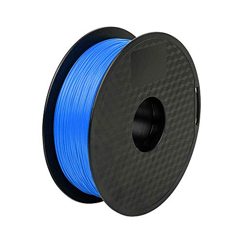 Ender PLA Filament 1.75mm 3D Printer Filament PLA for 3D Printer 1kg Spool (2.2lbs), Dimensional Accuracy of +/- 0.02mm PLA Blue