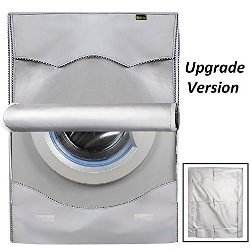 Mr.You Washing Machine Cover,Thicker Sunscreen Dustproof Cover For Front Load Washer Protection For Home Laundry,Dust proof and Anti-aging(Thicker,M)