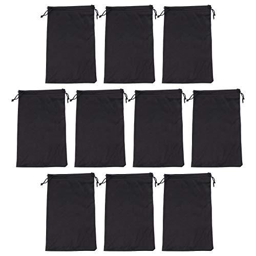 ABOOFAN 10 Stück Skibrillen-Schutztaschen für Schneebrillen, Ski-Tragetasche.