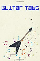 Guitar Exercises: Country Guitar Tabs Glossy Cover Design Cream Paper Sheet Size 6x9 Inches ~ Guitar - Notes # Note 112 Pages Quality Prints.