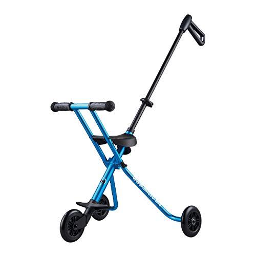 AYNEFY Cochecito de Beb/é Plegable,Negro Carga 30 kg Plegable Ligero Port/átil Beb/é Triciclo de Aluminio Carro Plegable de Tres Ruedas para Viajer al Aire Libre con Ni/ños Beb/és