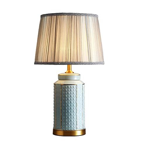 SHYPT Moderna Nueva lámpara de Mesa de cerámica China Sala de Estar Estudio Dormitorio Modelo de Noche Habitación Estilo Chino Lámparas Decorativas