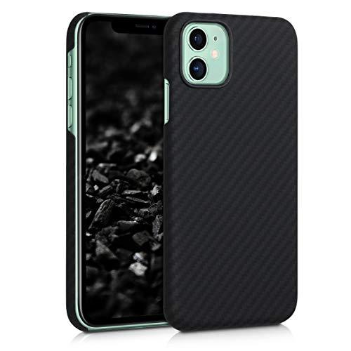 kalibri Carcasa Compatible con Apple iPhone 11 - Funda Protectora de aramida para móvil - Cover...