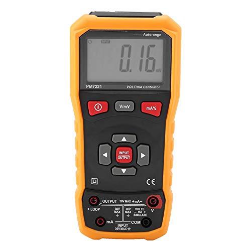 PEAKMETER PM7221 Calibrador de corriente Calibrador de voltaje Multimetro Digital Profesional calibrador...
