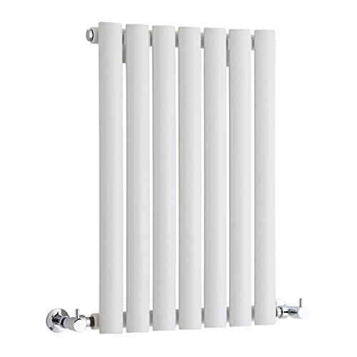 Hudson Reed Vitality – Radiateur Design Horizontal – Blanc – 63,5 x 41,5cm