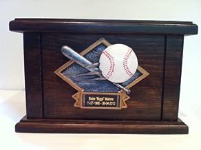baseball urn