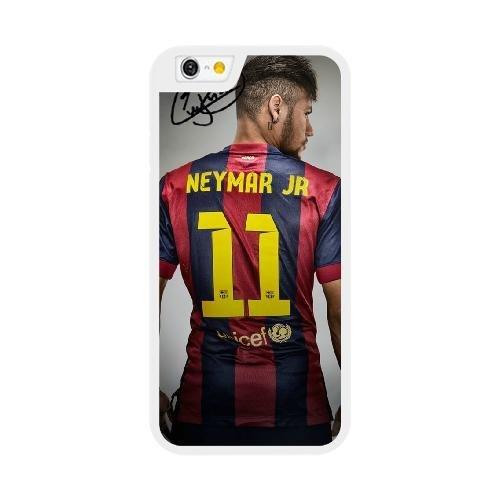 Alezentu Veigen Funda para Neymar Series iPhone 6 6S Plus 5,5 Pulgadas la Caja Blanco iPhone 6 6S Plus 5,5 Pulgadas Funda UIWEJDFGS4178
