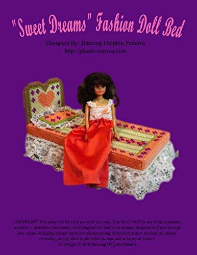 'Sweet Dreams' Fashion Doll Bed: Plastic Canvas Pattern (English Edition)