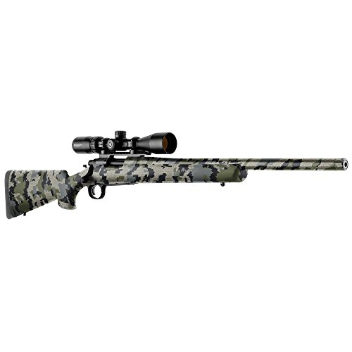 GunSkins Rifle Skin - Premium Vinyl Gun Wrap with Precut Pieces - Easy to Install and Fits Any Rifle - 100% Waterproof Non-Reflective Matte Finish - Made in USA - Kuiu Verde 2.0